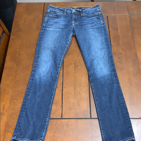 Lucky Brand Sweet'n Straight jeans size 4/27